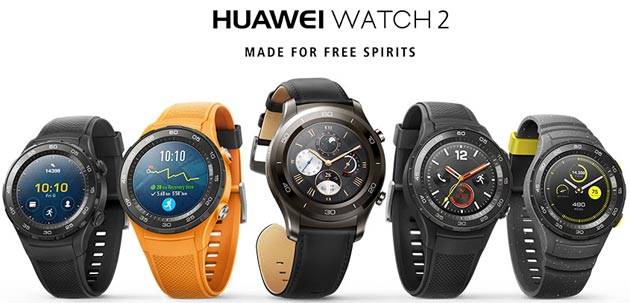 Confronto Huawei Watch 2 vs Huawei Watch 1
