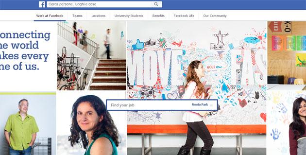Facebook Jobs per offrire e trovare Lavoro come LinkedIn