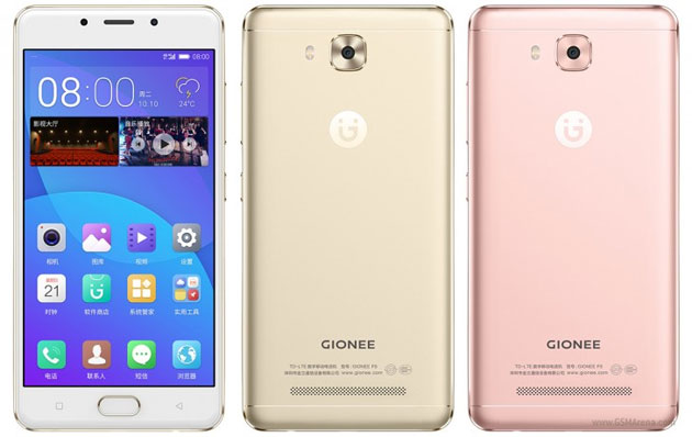 Gionee F5, smartphone Android 5.3 HD con CPU processore octa-core di fascia media