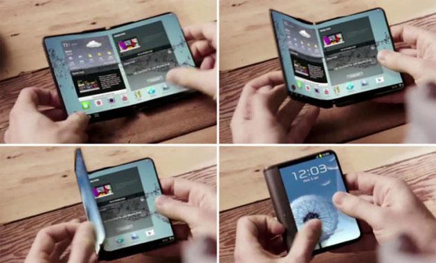 Samsung potrebbe presentare un prototipo di smartphone pieghevole al MWC