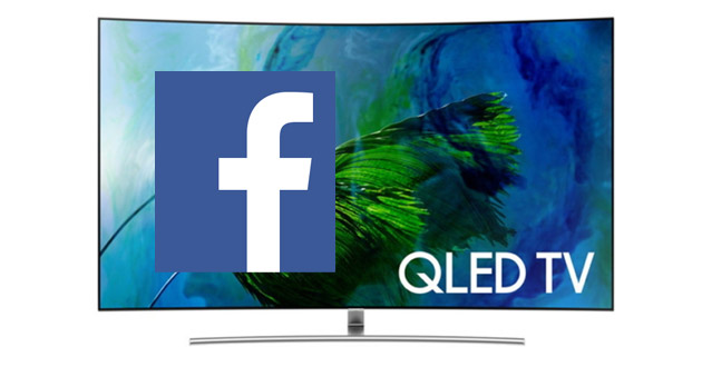 Samsung, disponibile nuova Facebook Video App per Smart TV