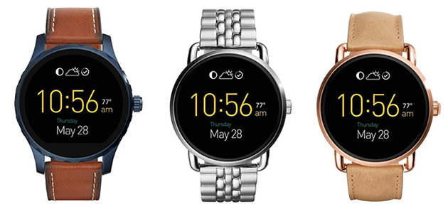 Android Wear 2 arriva sugli smartwatch Fossil