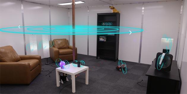 Disney sviluppa stanza con Elettricita' Wireless