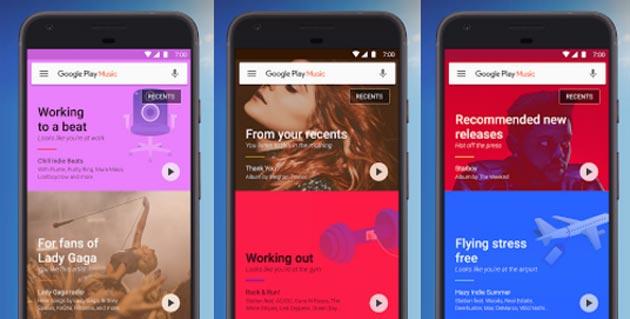 Google Play Music, arriva integrazione con la Sveglia