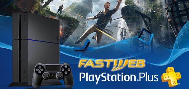 Foto Fastweb regala PlayStation Plus per 12 mesi