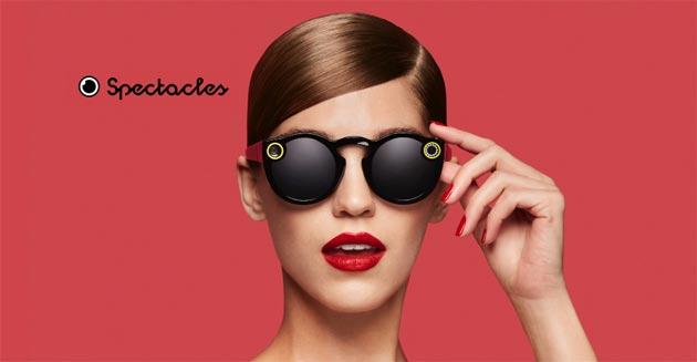Spectacles, gli occhiali smart di Snapchat con fotocamera in vendita online