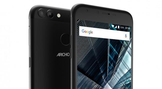 Archos 55 Graphite e 50 Graphite, smartphone Android economici con Doppia Fotocamera