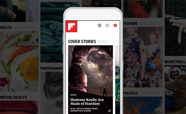 Flipboard 4.0 introduce Smart Magazines, le Riviste Intelligenti
