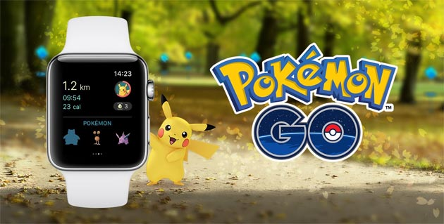 Pokemon GO su Apple Watch