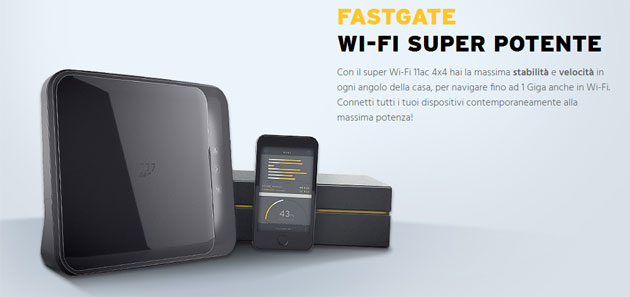 FASTGate, nuovo modem Fastweb