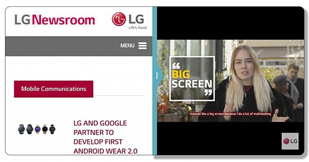 LG G6: display FullVision 5.7 QHD 18:9 con interfaccia UX 6.0