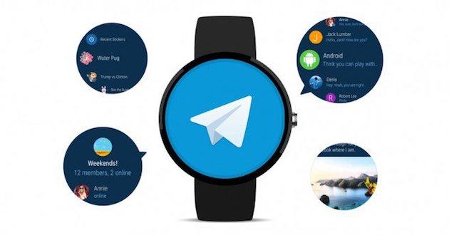 Telegram si aggiorna con supporto Android Wear 2.0 e molto altro