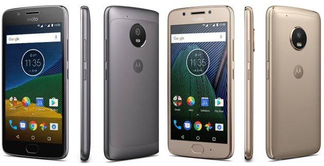 Foto Moto G5 disponibile in Italia a 199 euro