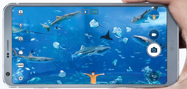 LG G6, Fotocamere e caratteristiche ottiche nel dettaglio