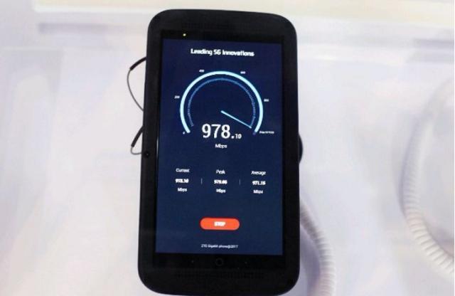 ZTE presenta il primo telefono gigabit al MWC