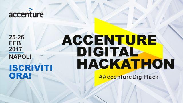 Accenture Digital Hackathon: Quarta Edizione il 25 e 26 Febbraio a Napoli