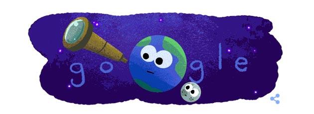 Google doodle alla scoperta di sette esopianeti simili alla Terra