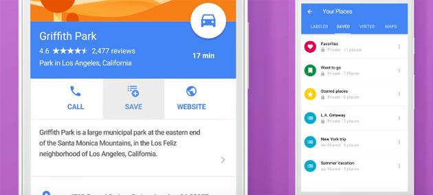 Google Maps, come creare Liste di luoghi preferiti da condividere