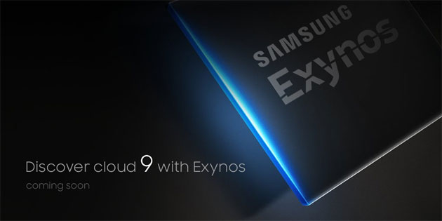 Foto Samsung Exynos 8895 Serie 9 ufficiale