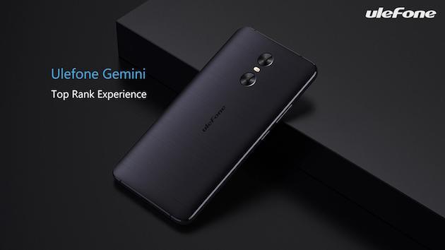 Ulefone Gemini con doppia fotocamera in offerta a circa 100 euro