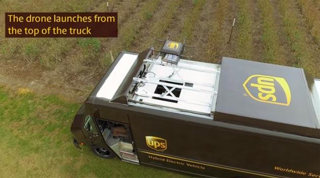 UPS testa Droni per le consegne, Video e dettagli Progetto