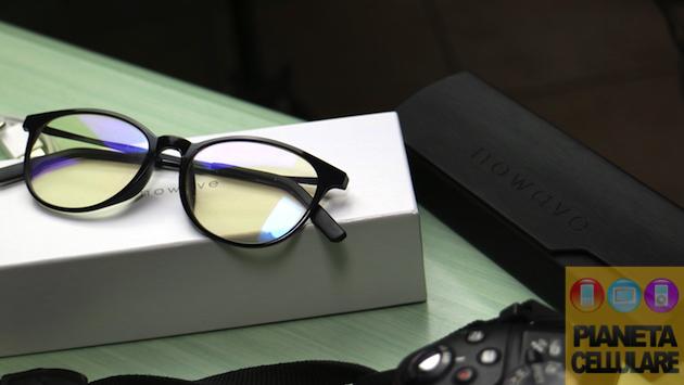 Recensione occhiali Nowave, protezione per gli occhi dalla luce blu dei display