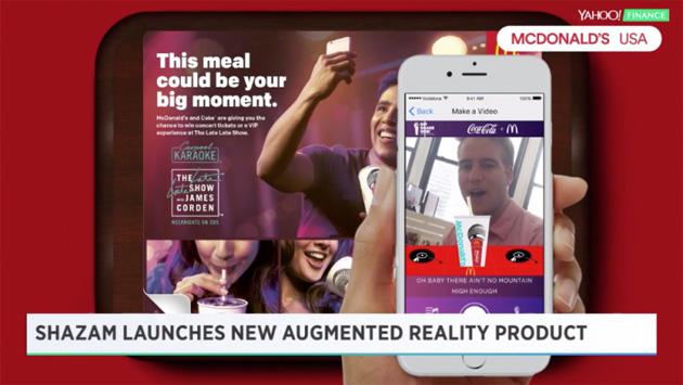 Shazam lancia la sua Realta' Aumentata