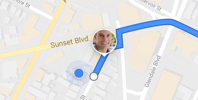 Google Maps: come condividere la posizione in Tempo Reale
