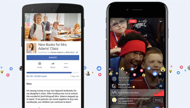 Facebook introduce le Raccolte di Fondi personali