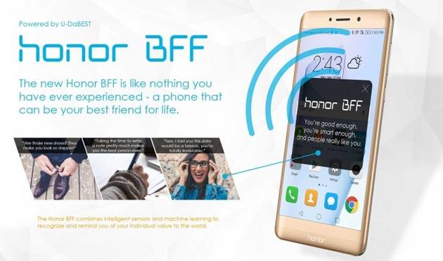 Honor BFF, lo smartphone migliore amico debutta il 1 Aprile