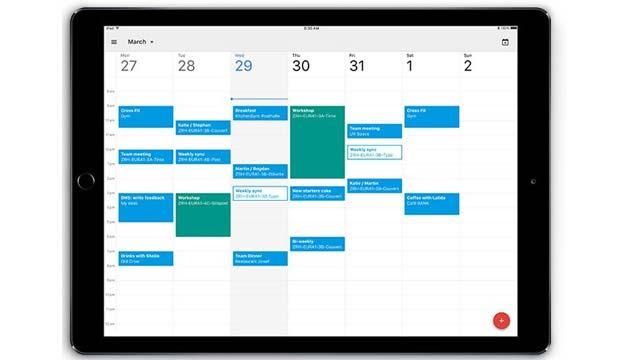 Calendario Google su Apple iPad ora disponibile
