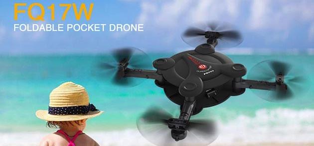 FQ777 FQ17W, in sconto il drone che sta in tasca