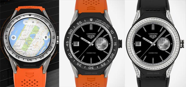 TAG Heuer Connected Modular 45, SmartWatch modulare con Android Wear 2.0