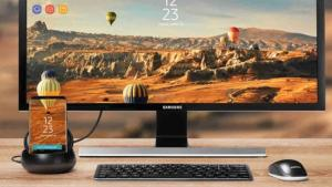 Samsung DeX, smartphone Galaxy come PC desktop
