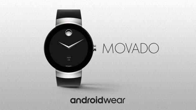 Movado Connect con Android Wear 2.0 arriva questo autunno