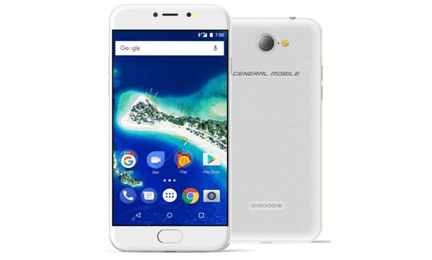 General Mobile GM6, telefono Android One Quad-Core da 5 pollici HD