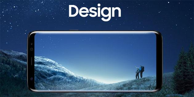 Samsung Galaxy S8, S8+ con Infinity Display WQHD+ (Risoluzione predefinita FullHD+)