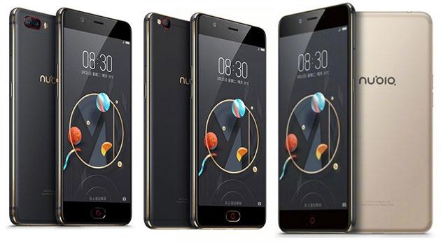 Nubia M2, M2 Lite, M2 Play e N2: dal dual-camera al telefono con 5000mah