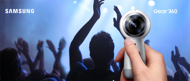Samsung Gear 360 2017 in Italia: video in 4K a 360 con Live Streaming sui Social