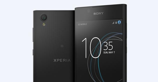 Sony presenta Xperia L1, design elegante e display 5.5 pollici
