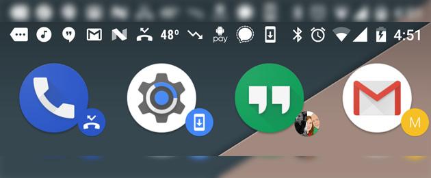 Nova Launcher introduce i Badge Dinamici in beta