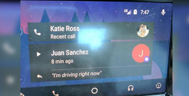 Google Allo supporta Android Auto