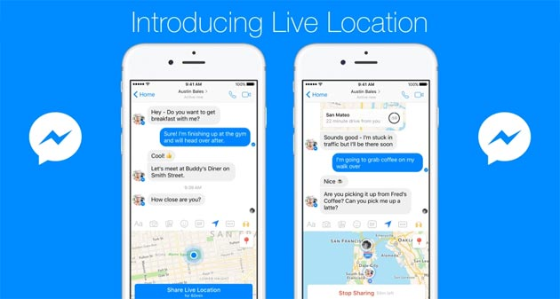 Messenger Live Location, come condividere la posizione in diretta