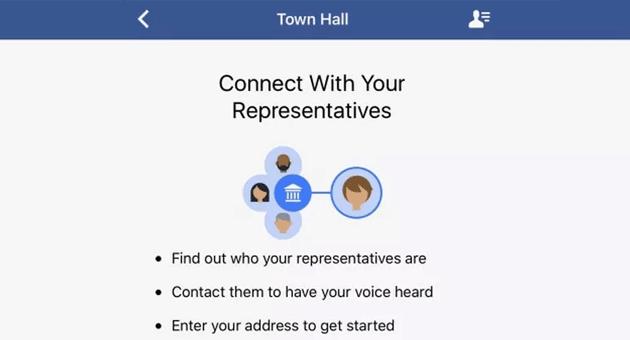 Facebook lancia strumento per trovare e contattare politici locali