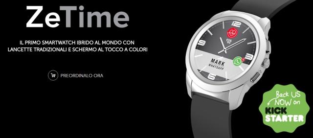 ZeTime, lo Smartwatch ibrido e sorprendente di MyKronoz