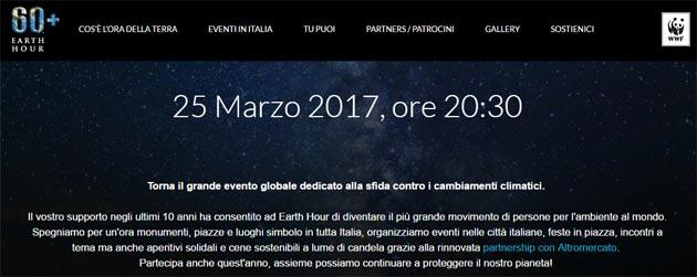 Ora della Terra 2017: a Earth Hour partecipano anche Samsung e Wind Tre