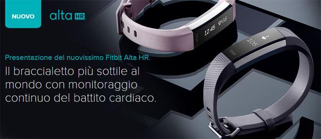 FitBit Alta HR, Braccialetto per Fitness con Battito Cardiaco e Display OLED
