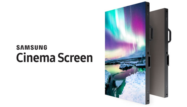 Samsung Cinema Screen, schermo a LED HDR per i cinema del futuro
