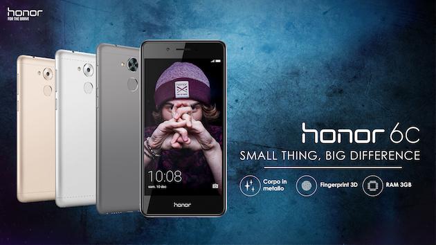 Honor 6C ufficiale: caratteristiche, data uscita e prezzo