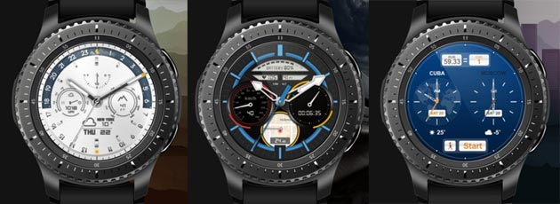 Samsung Gear S3, disponibili le watchface Outdoor, Travel e Sports